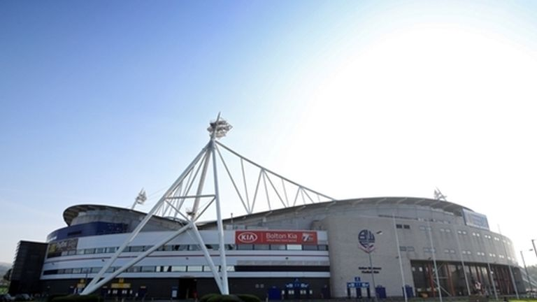 The University of Bolton stadium will host two courtrooms