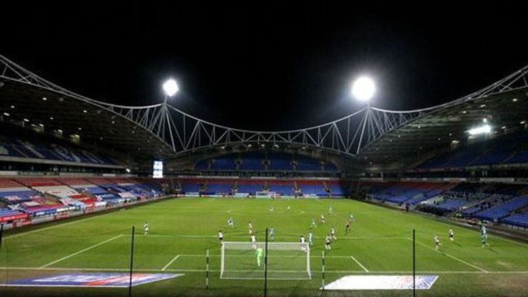 Bolton Wanderers' have not had fans at matches since last March