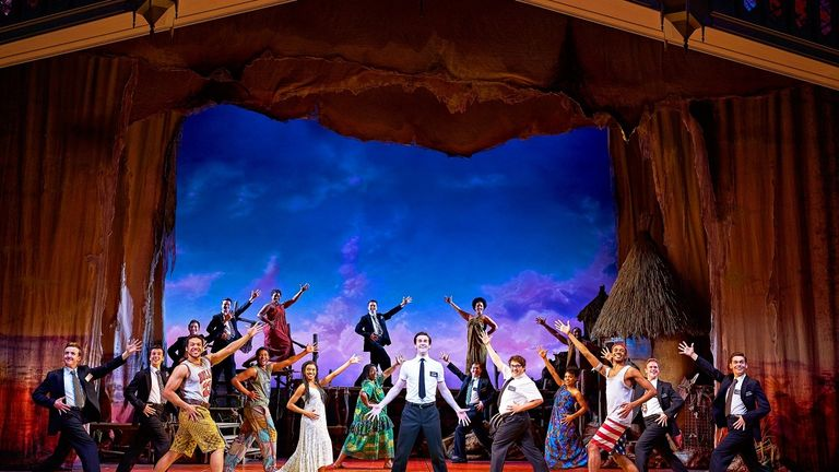 The Book of Mormon returns from July. Pic: Paul Coltas