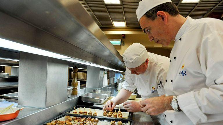 The Queen's royal household runs as a business, employing everyone from HR to chefs