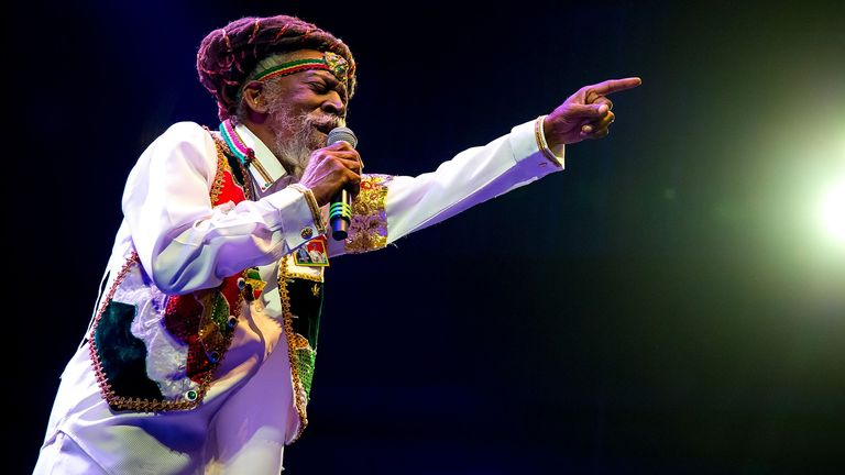 Bunny Wailer in concert at The Brooklyn Bowl, Las vegas, America - 09 Apr 2016