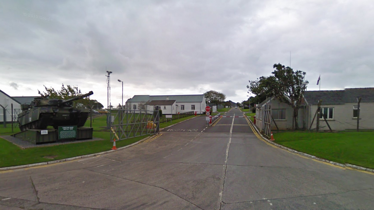 Castlemartin Training Area in Pembrokeshire, Wales. Pic: Google Street View