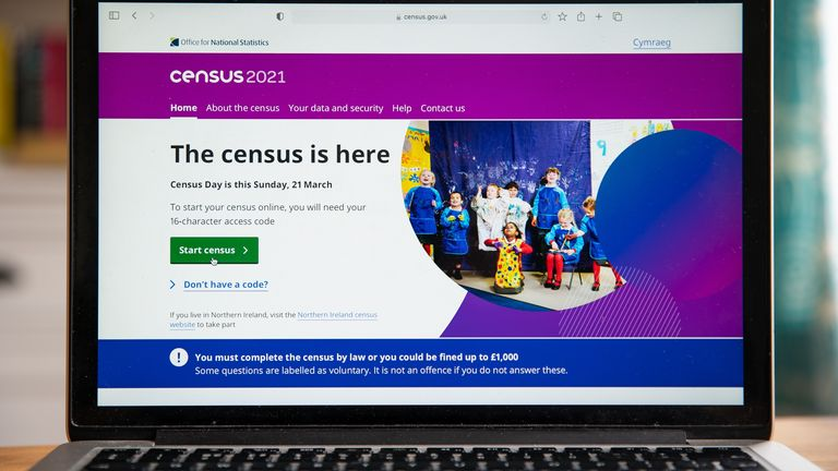 Most people are filling in the census online for the first time since it began in 1801
