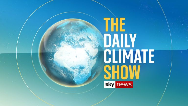 Sky News' Daily Climate Show will begin on 7 April
