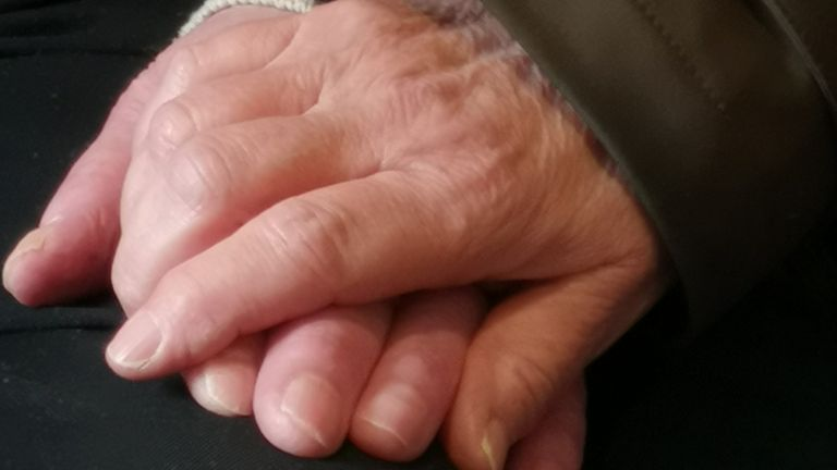 'A lot of people stay in their room', Jim says of care home life in lockdown