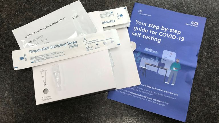 The government says regular, rapid testing is already in place for millions of people across the NHS, care homes and schools