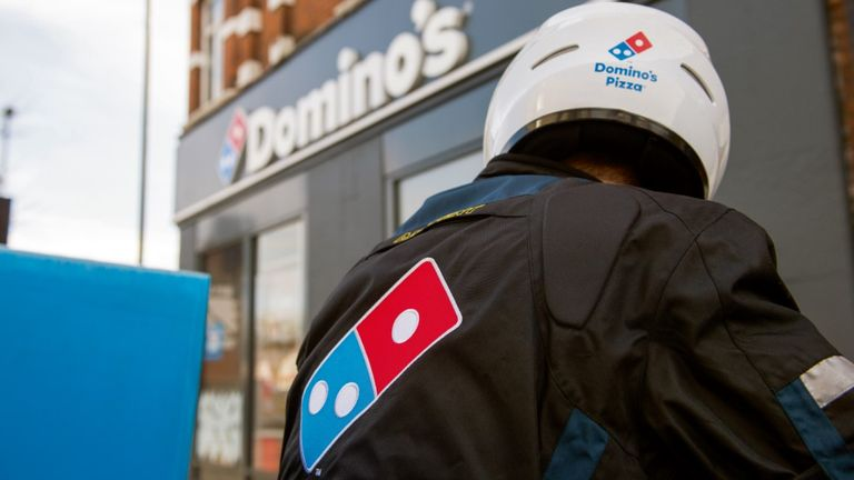 Domino's has enjoyed a surge in online sales during lockdown restrictions