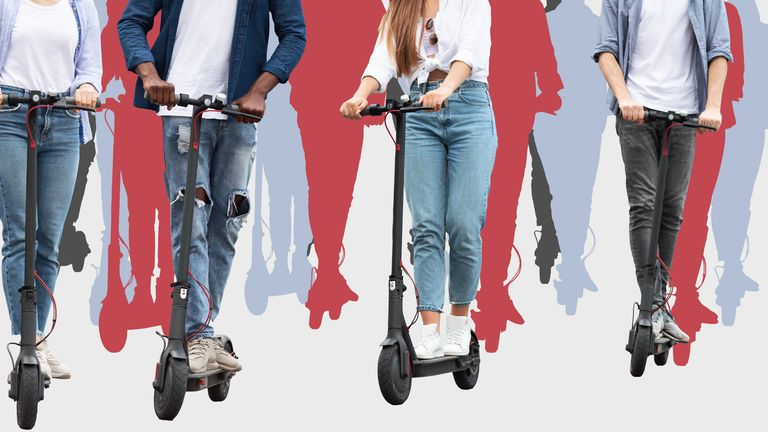 E-scooter trials are running in towns and cities across the country