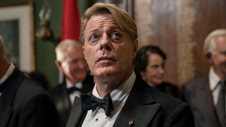 Eddie Izzard in Six Minutes To Midnight. Pic: Six Minutes To Midnight/Sky Cinema/Lionsgate