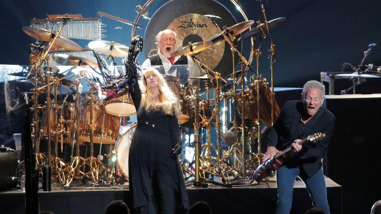 Fleetwood Mac perform at Radio City Music Hall in 2018