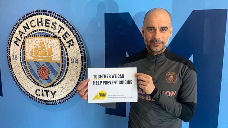Manchester City manager Pep Guardiola is also backing the campaign