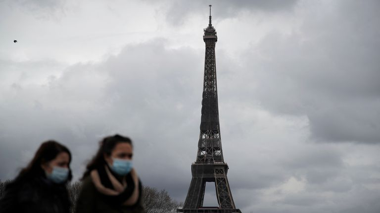 Paris will go into lockdown from midnight on Friday