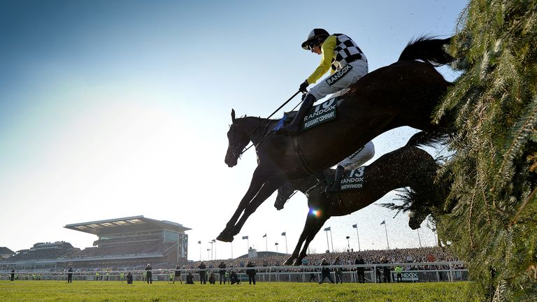 General view during the 5.15 Randox Health Grand National Handicap Chase