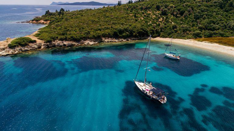 Meganisi island, Greece