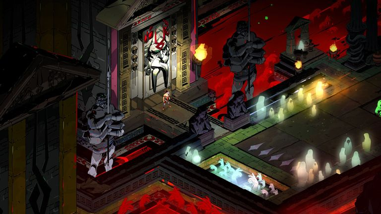 Hades walked off with five awards at the ceremony. Pic: Supergiant Games