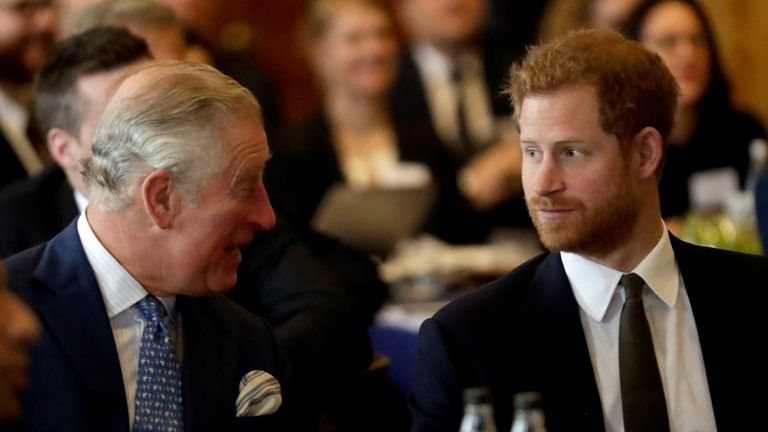 Harry says his father, the Prince of Wales, 'stopped taking my calls'