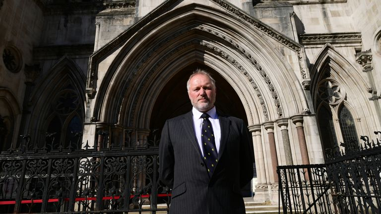 Harry Miller is challenging the College of Policing for a second time
