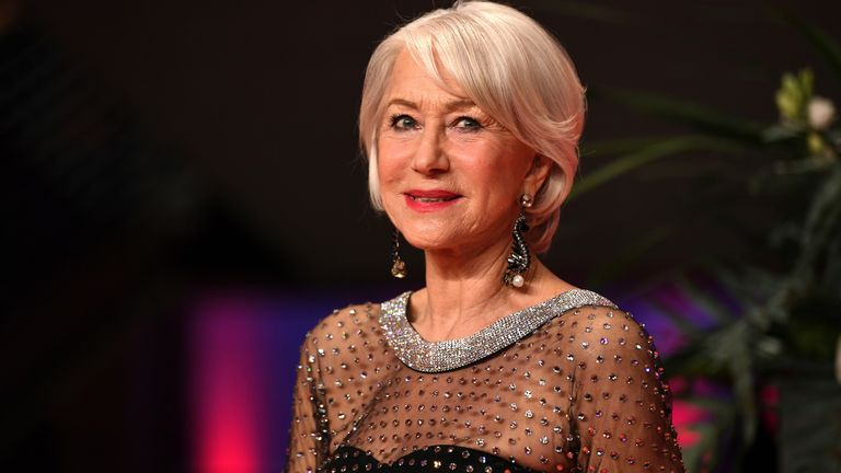 27 February 2020, Berlin: 70th Berlinale, awarding of the Golden Bear of Honour to Mirren. Actress Helen Mirren. The International Film Festival takes place from 20.02. to 01.03.2020. Photo by: Britta Pedersen/picture-alliance/dpa/AP Images