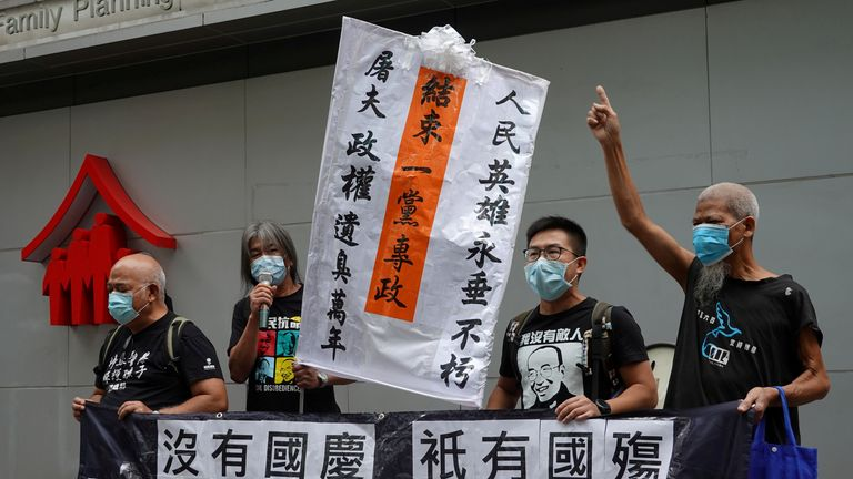 Pro-democracy protests have swept Hong Kong in recent years as tensions rise between citizens and Beijing