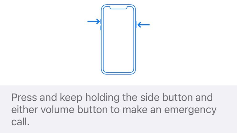The iphone hack calls 999 and alerts your emergency contacts