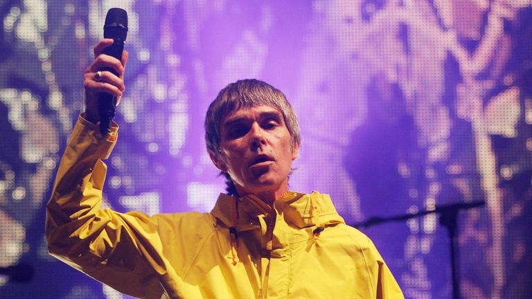 Ian Brown has previously called the possibility of vaccine passports 'the new Nazi normal'. Pic: AP