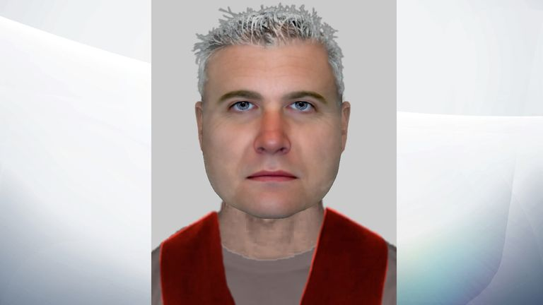 SUSPECT: An e-fit image of the man officers want to speak to