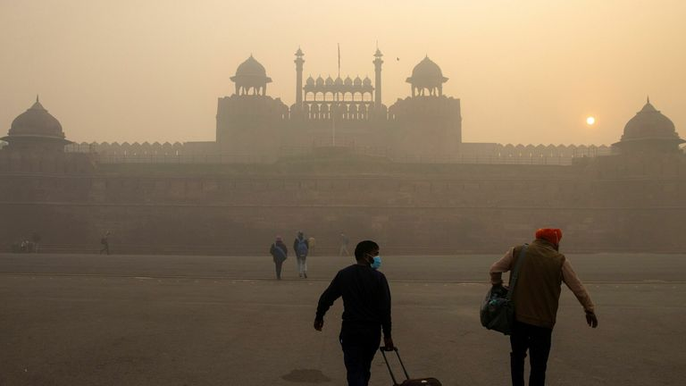 Emissions in India rose above 2019 levels in September last year as restrictions were relaxed.