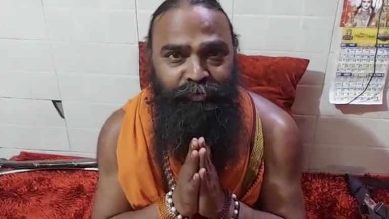 Baba Machendra Puri, Naga Sadhu, Age 41