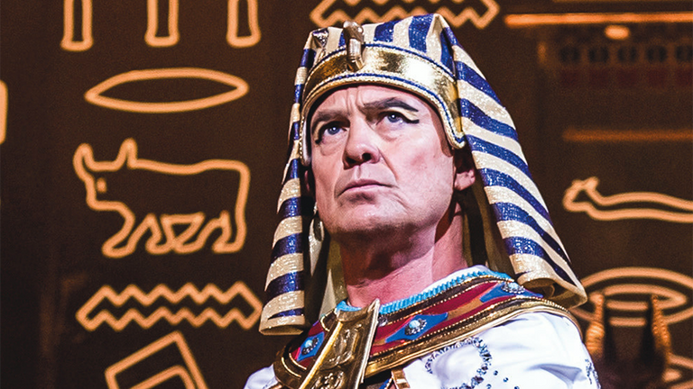 Jason Donovan will swap the dreamcoat for the crown as he plays the pharo Joseph and his Amazing Technicolour Dreamcoat in the summer