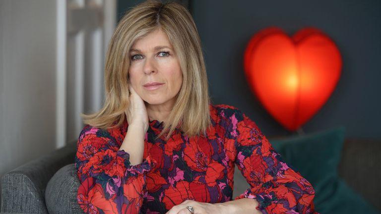 Kate Garraway in Finding Derek, the new documentary about her husband Derek Draper's year-long fight against coronavirus. Pic: ITV/Tony Wards