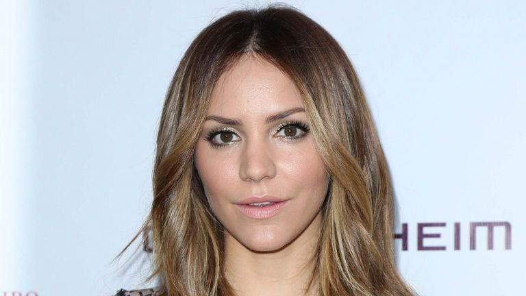 Katharine McPhee starred in the musical Waitress. Pic: AP