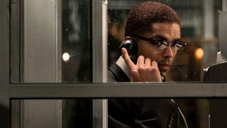Kingsley Ben-Adir in One Night in Miami. Pic: Amazon Studios
