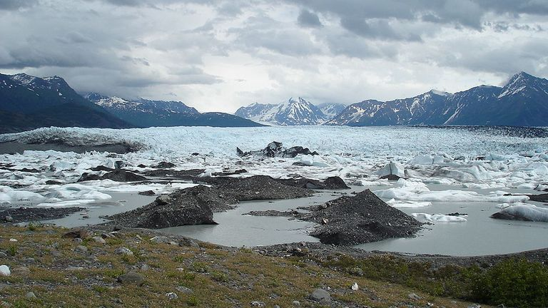 The crash happened near Knik glacier, about 50 miles east of Anchorage in Alaska