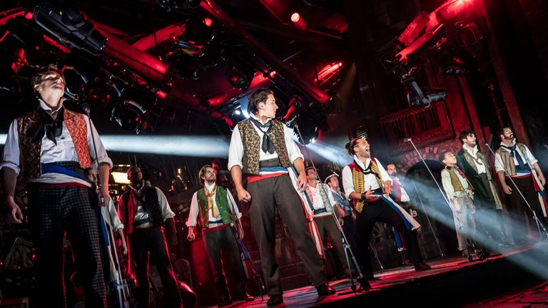 Les Mis will return with a staged concert in May. Pic: Johan Persson