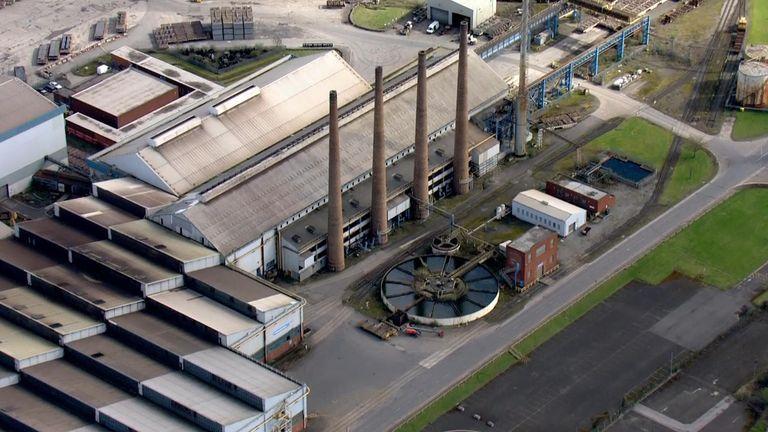 Liberty Steel plant Rotherham 25/3/21