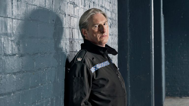Adrian Dunbar as Superintendent Ted Hastings in series six of Line Of Duty. Pic: BBC/World Productions/Steffan Hill