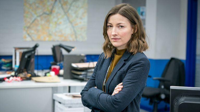 DCI Joanne Davidson (Kelly MacDonald) in series six of Line Of Duty. Pic: BBC/World Productions/Steffan Hill