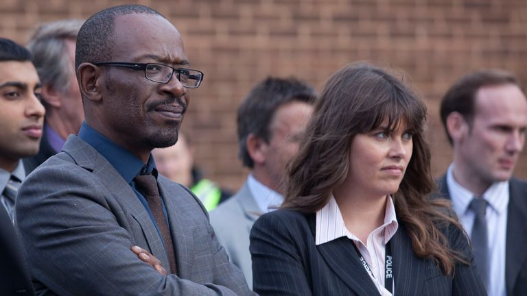 Lennie James in series one of Line Of Duty. Pic: Image Credit: BBC/World Productions/Ed Miller