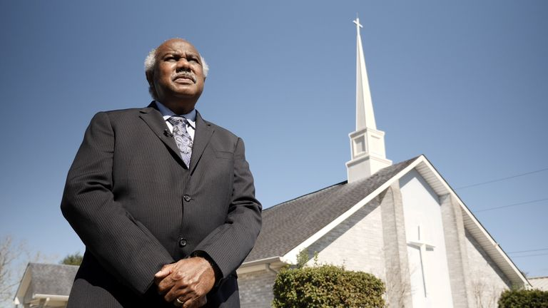 "Pastor Lionel Murphy of ""Cancer Alley"" in Louisiana"