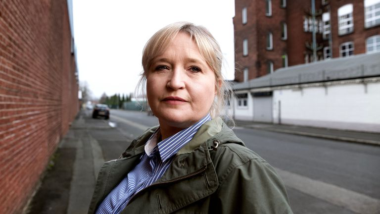 Detective Sergeant Julie Connor. Pic: BBC/Minnow Films/Nick Mattingly