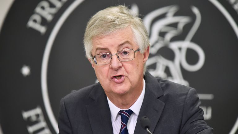 Mark Drakeford says the vaccination programme in Wales is going 'from strength to strength'