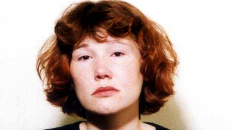 An undated hand-out file photograph shows Maxine Carr who faces a three-and-a-half year jail term for her role in the deaths of schoolgirls Jessica Chapman and Holly Wells following the conclusion of her trial at the Old Bailey in London December 17, 2003. Carr was found guilty of conspiracy to pervert the course of justice but cleared of assisting an offender, and her ex-lover Ian Huntley was given two life sentences on after being found guilty of the murder of the10-year-old schoolgirls.