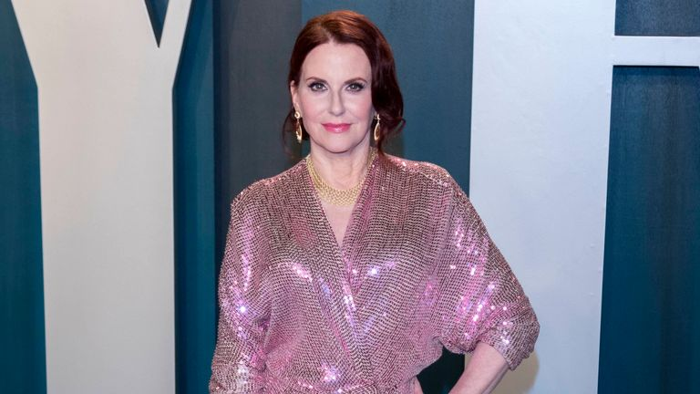 Megan Mullally will star in Anything Goes. Pic: Hubert Boesl/picture-alliance/dpa via AP