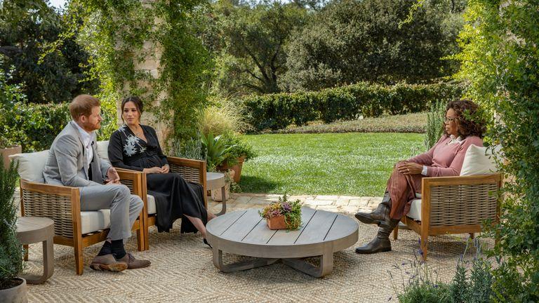 مگان ، دوشس ساسکس و پرنس هری در مصاحبه خود با اپرا وینفری صحبت می کنند