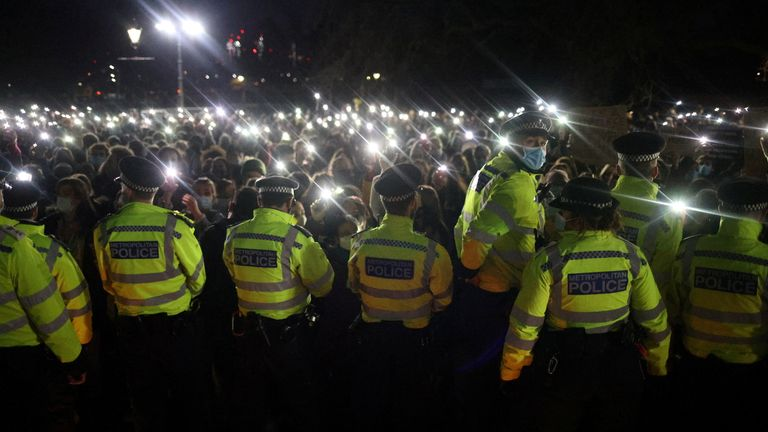 Reclaim These Streets says the police failed to protect public order, public health and the right to protest