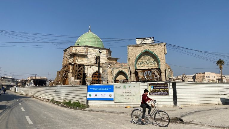 Mosul was the site of the IS capital