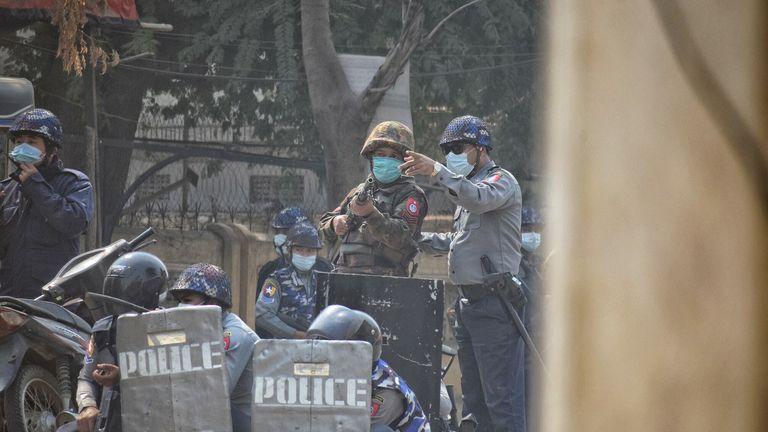 Myanmar authorities