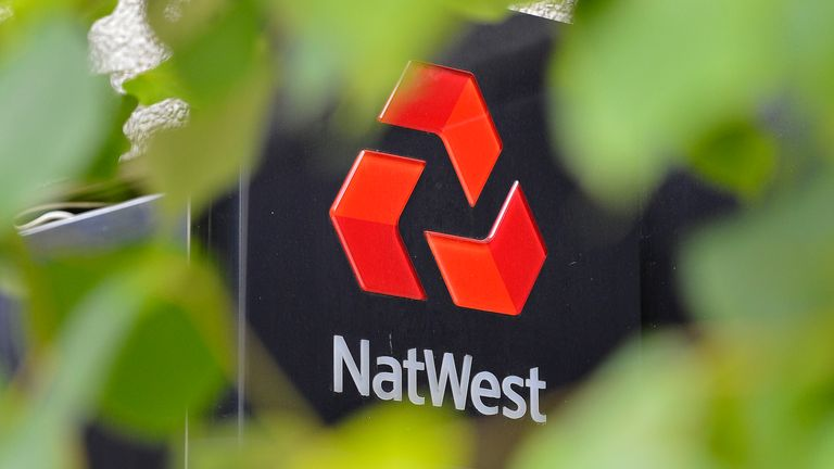 The logo of a NatWest bank is seen in London June 24, 2012