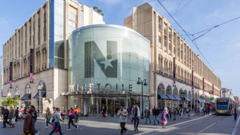 Nicetoile shopping centre Pic: Hammerson
