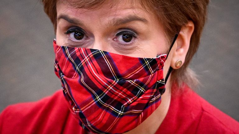 A Scottish parliamentary committee said Nicola Sturgeon had misled parliament